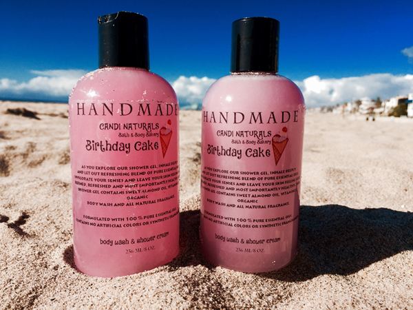 Birthday Cake Shower Gel 8 oz.