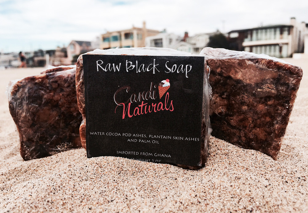 Raw Black African Soap 5oz.