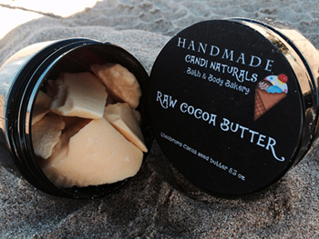 All Natural Cocoa Butter - 8 oz.